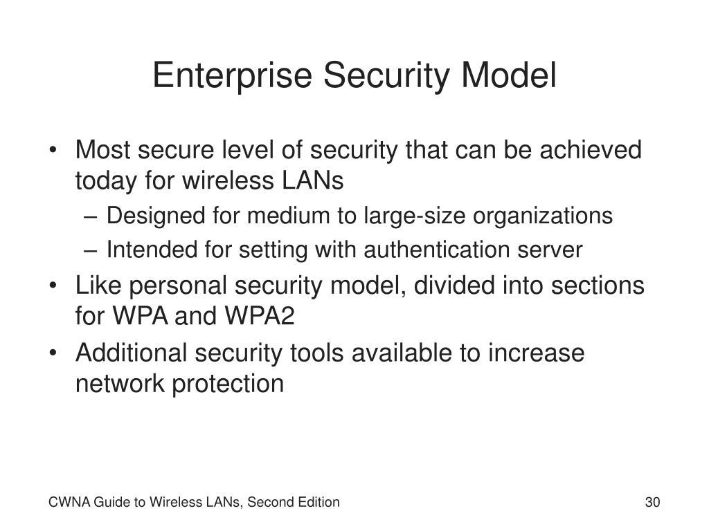Enterprise Security Model