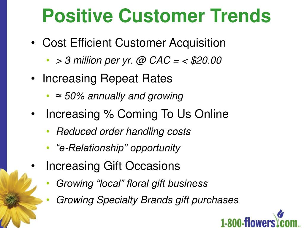 Positive Customer Trends