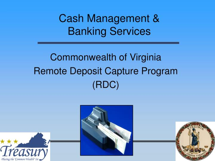 Cash management banking services l.jpg