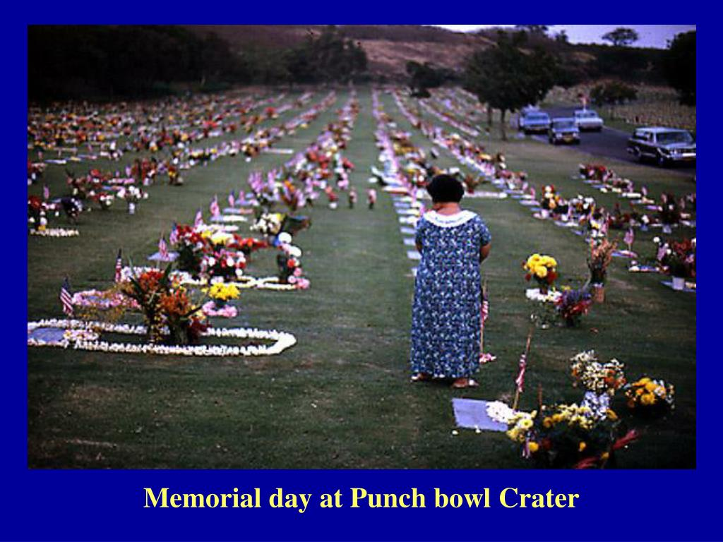 Memorial day at Punch bowl Crater
