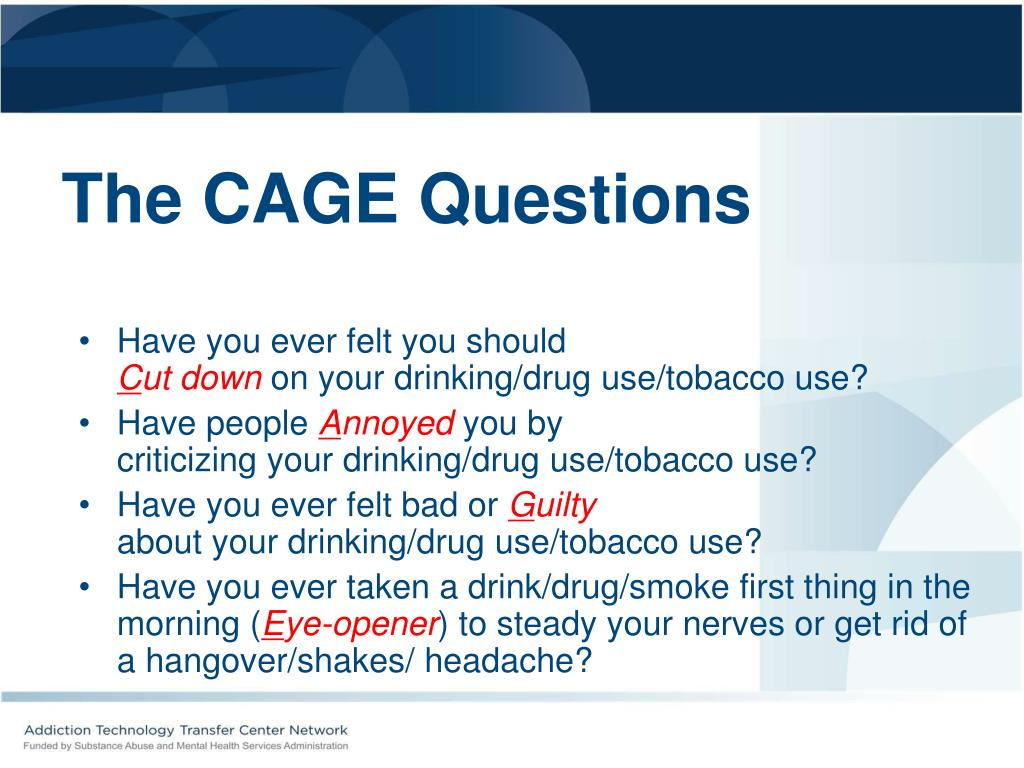 The CAGE Questions
