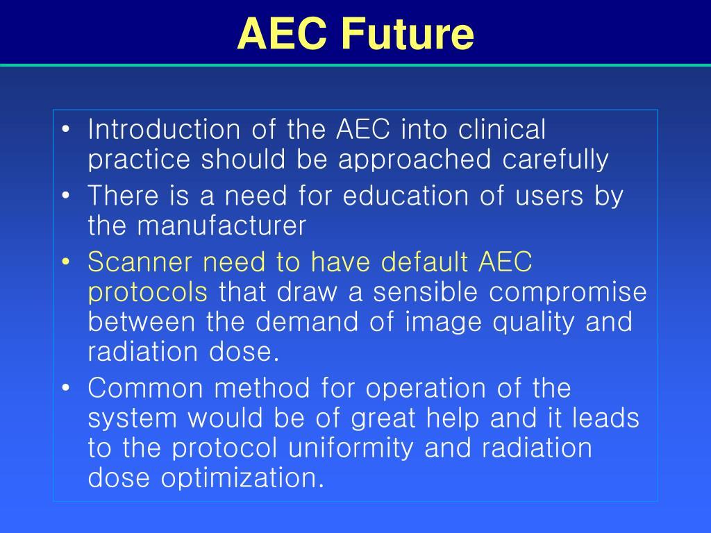 AEC Future