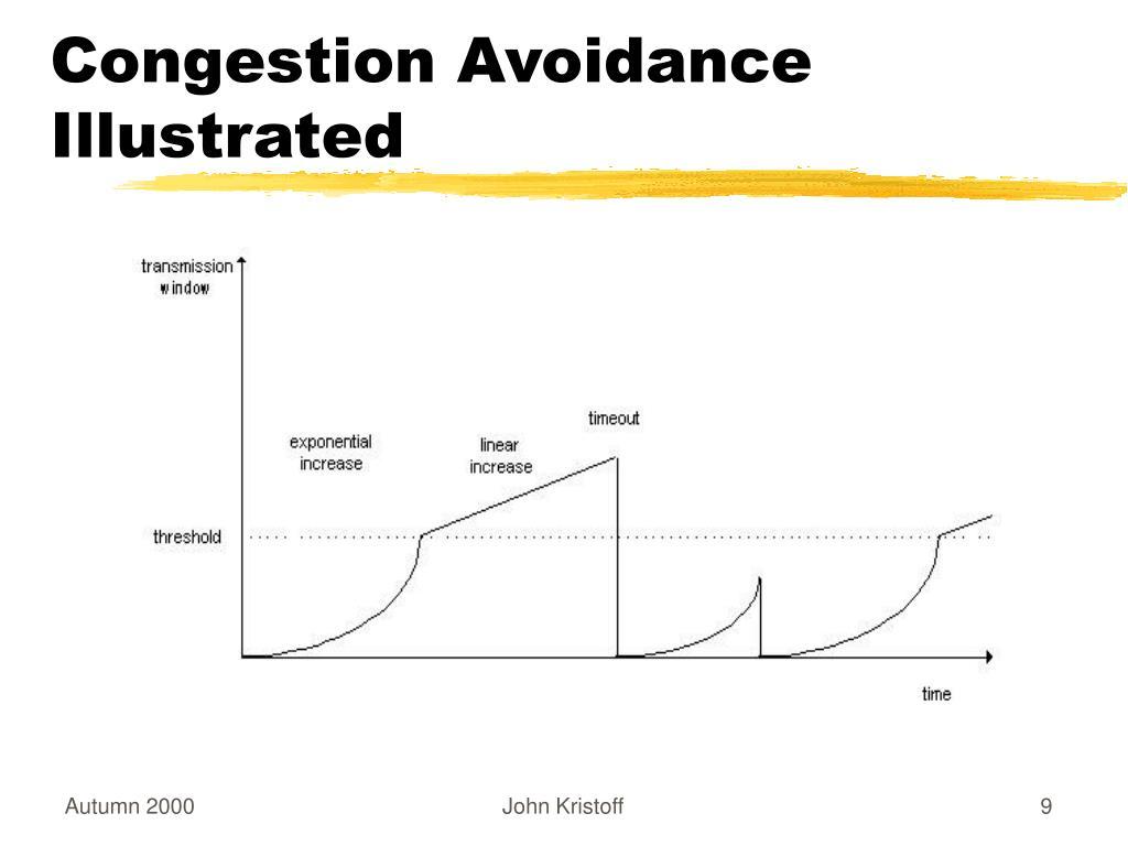 Congestion Avoidance Illustrated