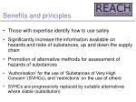 benefits and principles7