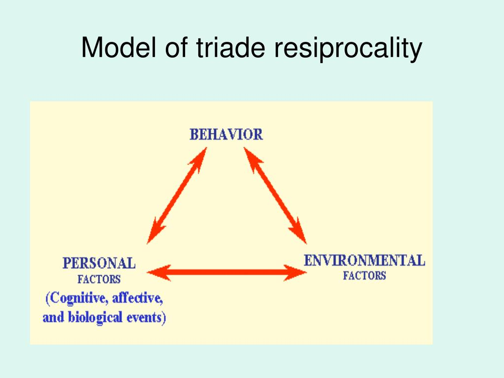 Model of triade resiprocality