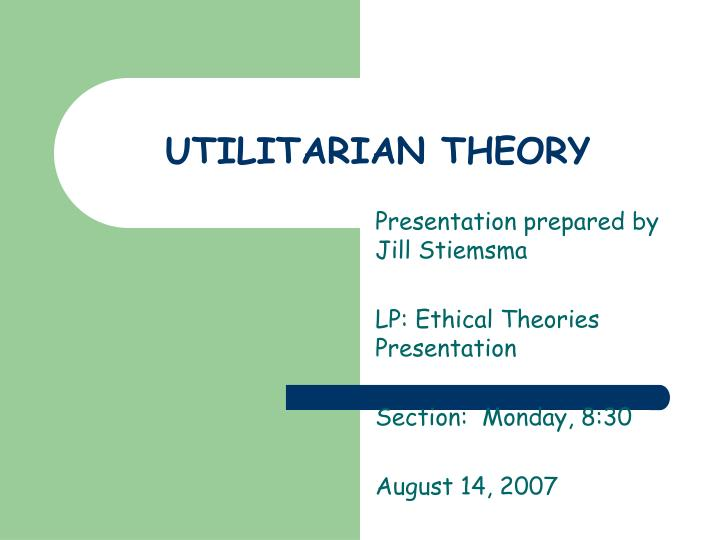 utilitarian ethics The sees of utilitarianism are found in the history of thought long before bentham antecedents of utilitarianism among the ancients a hedonistic theory of the value of life is found in the early 5th century bc in the ethics of aristippus of cyrene, founder of the cyrenaic school, and 100 years later in that of epicurus, founder of an ethic of retirement, and their followers in ancient greece.