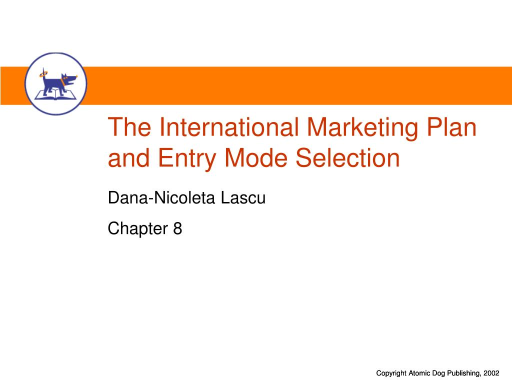 marketing entry plan Cartesian case study about developing a market entry strategy for a mobile  the  market entry strategy and detailed go-to-market and implementation plan.