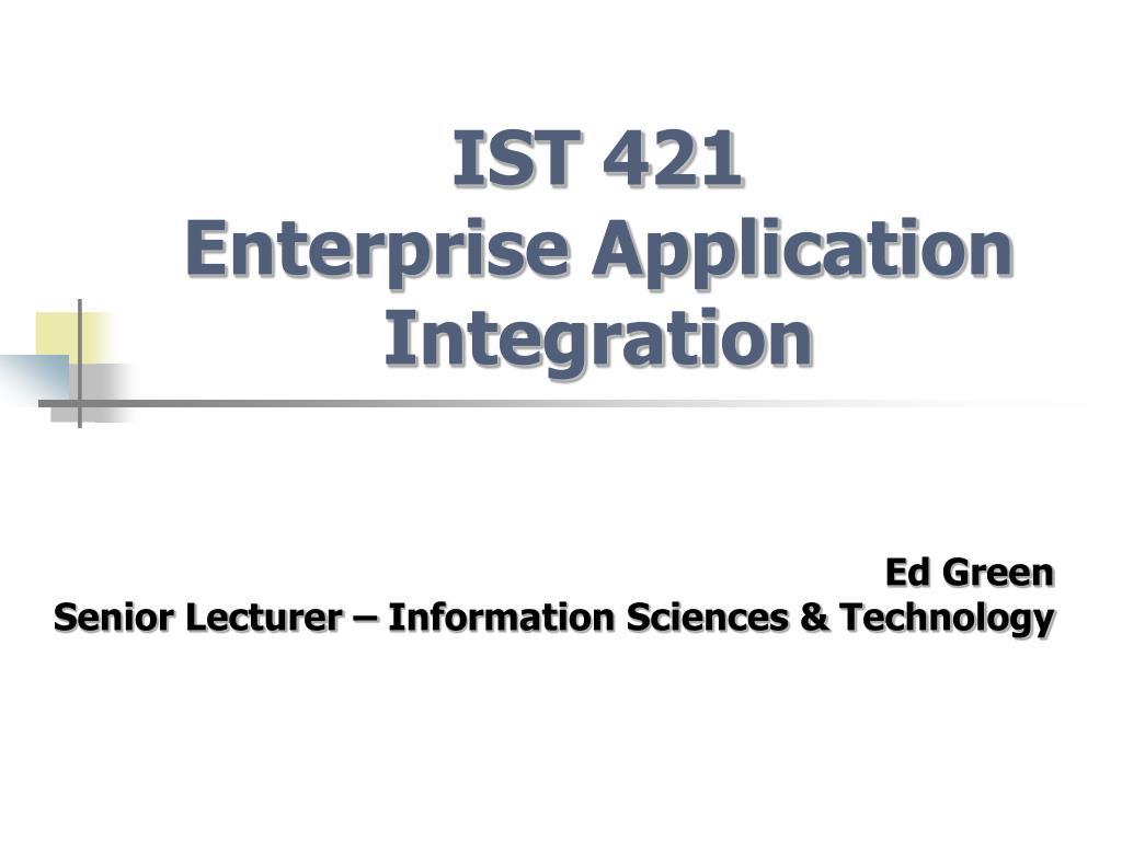 IST 421