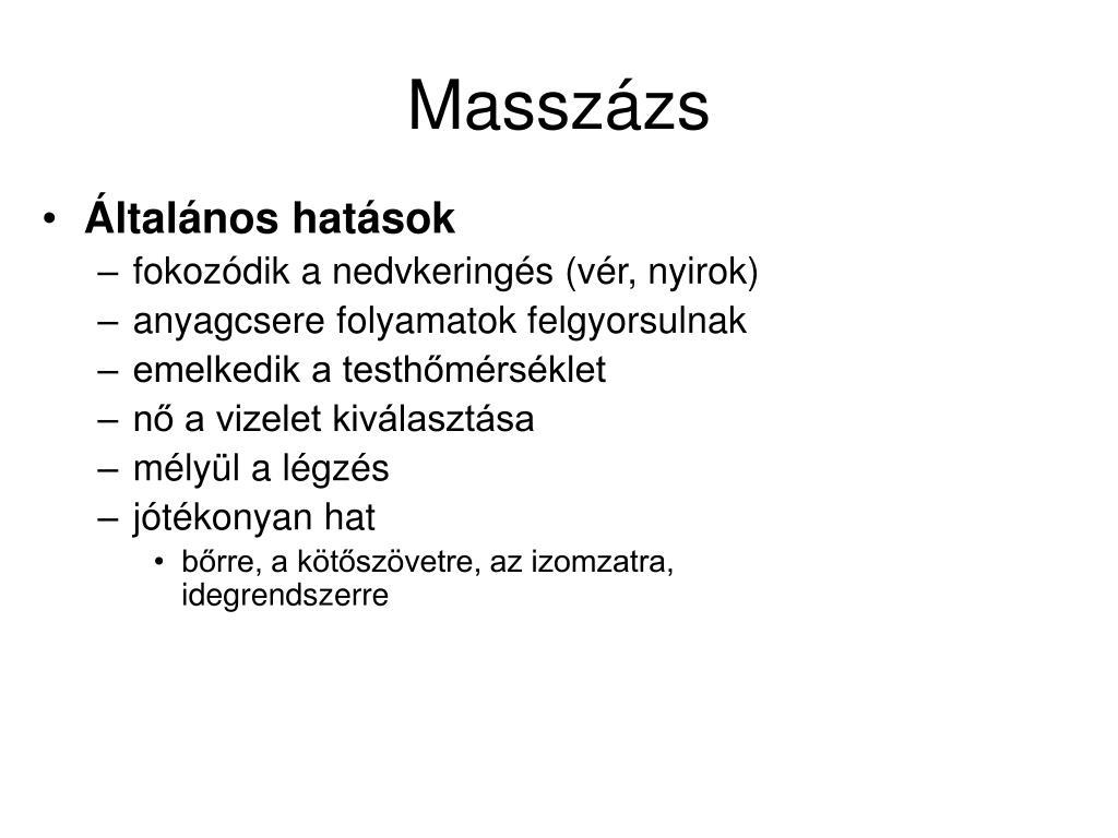 Masszázs