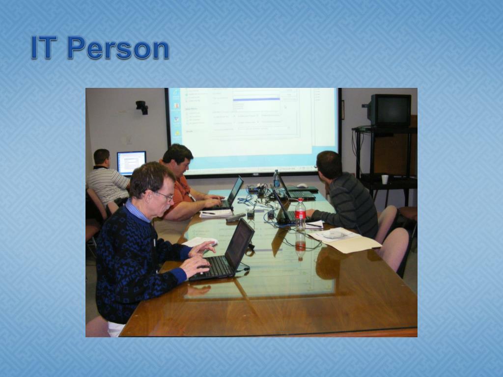 IT Person
