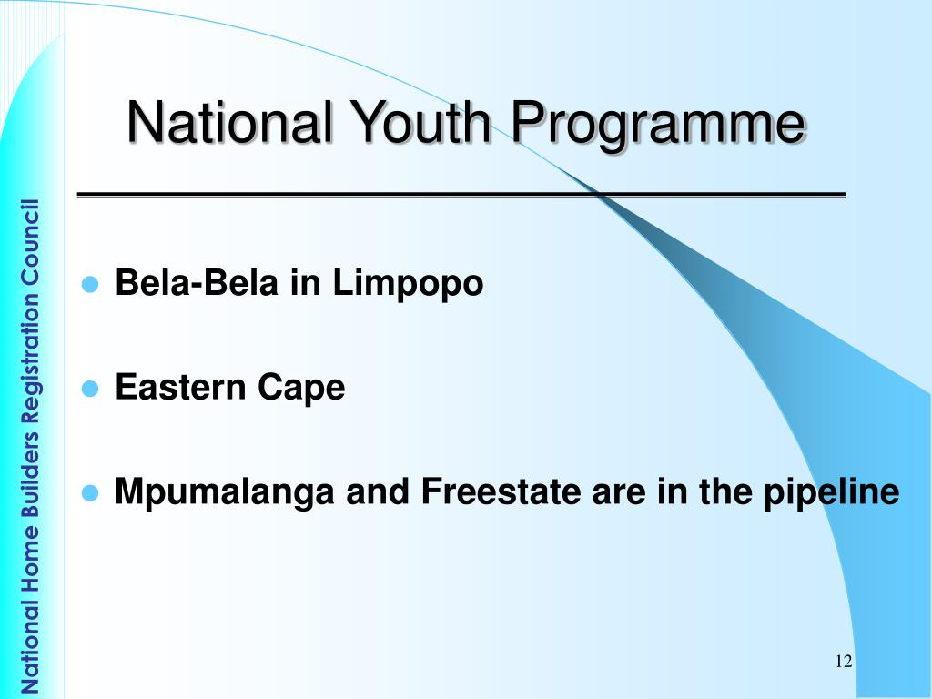 National Youth Programme
