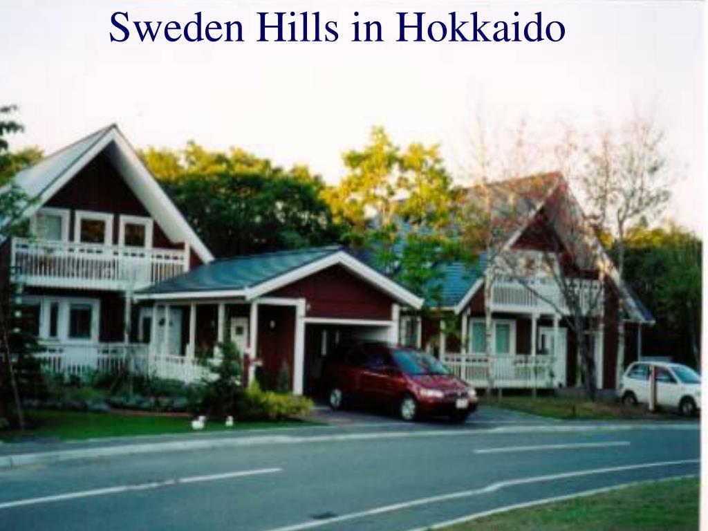 Sweden Hills in Hokkaido