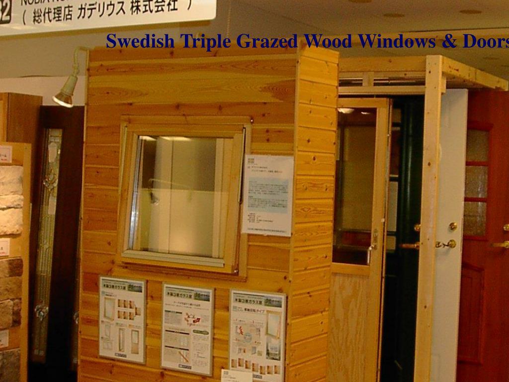 Swedish Triple Grazed Wood Windows & Doors