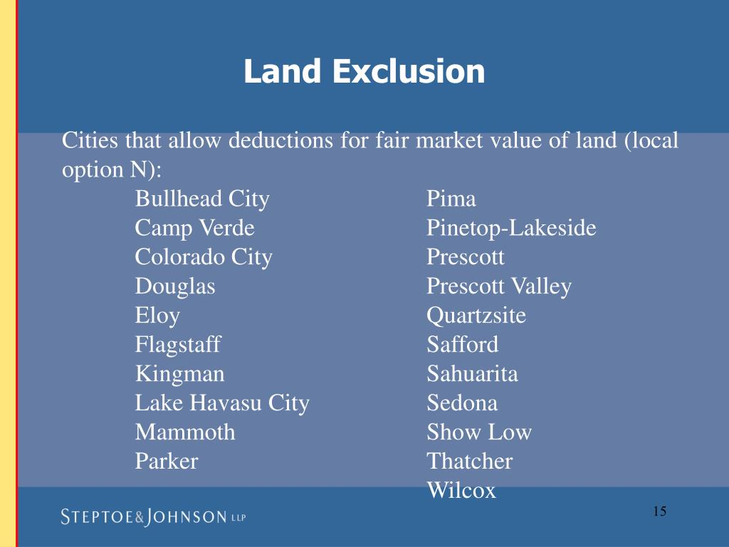 Land Exclusion