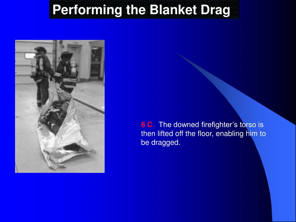 Performing the Blanket Drag