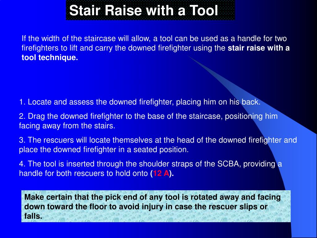 Stair Raise with a Tool