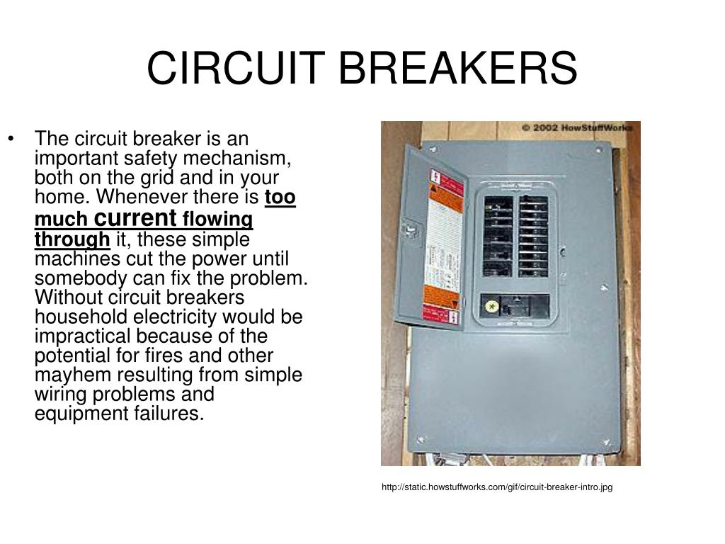 The circuit breaker is an important safety mechanism, both on the grid and in your home. Whenever there is