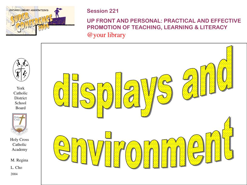 displays and