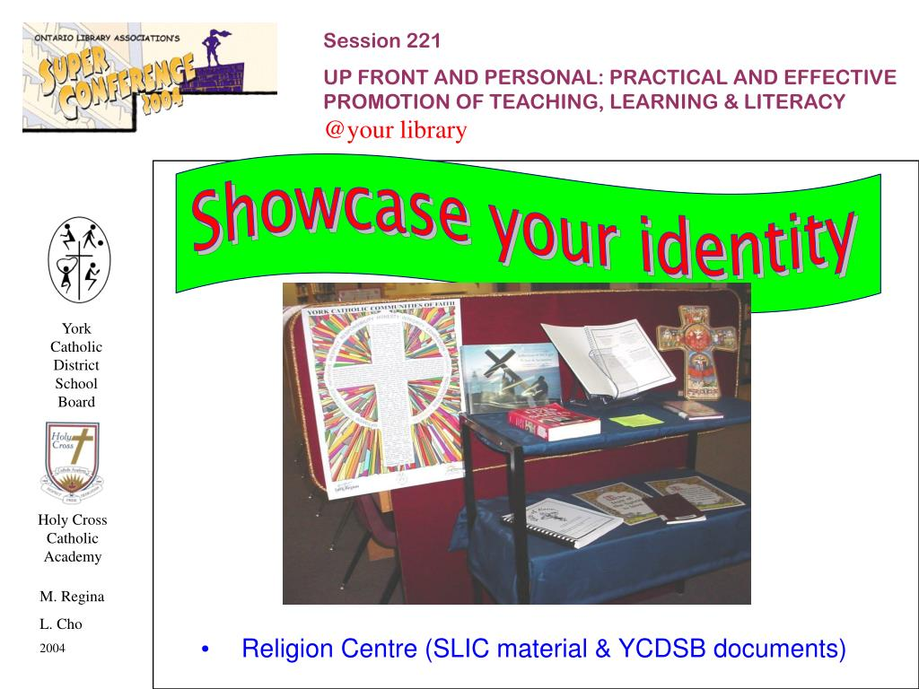 Showcase your identity