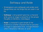 soliloquy and aside