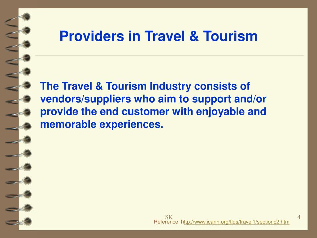 Providers in Travel & Tourism