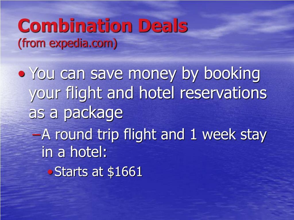 Combination Deals