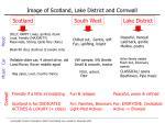 image of scotland lake district and cornwall