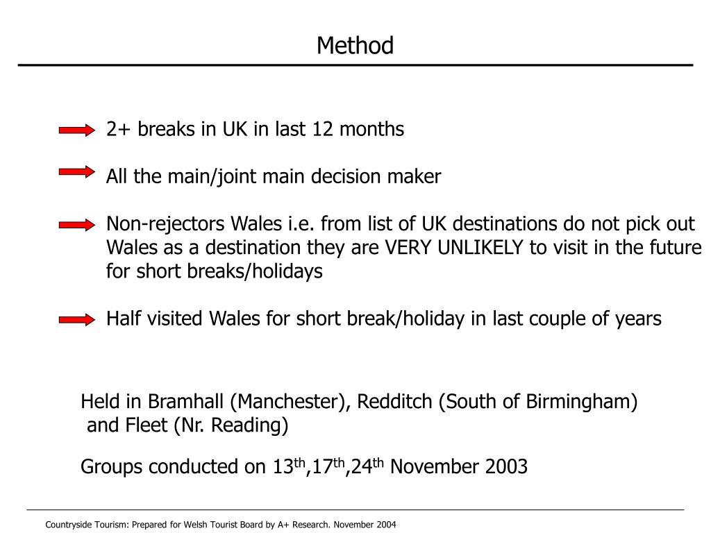 2+ breaks in UK in last 12 months