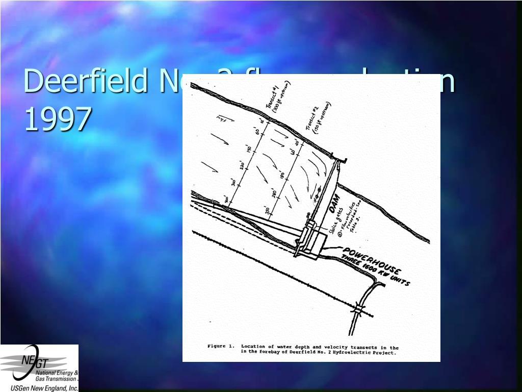 Deerfield No. 2 flow evaluation