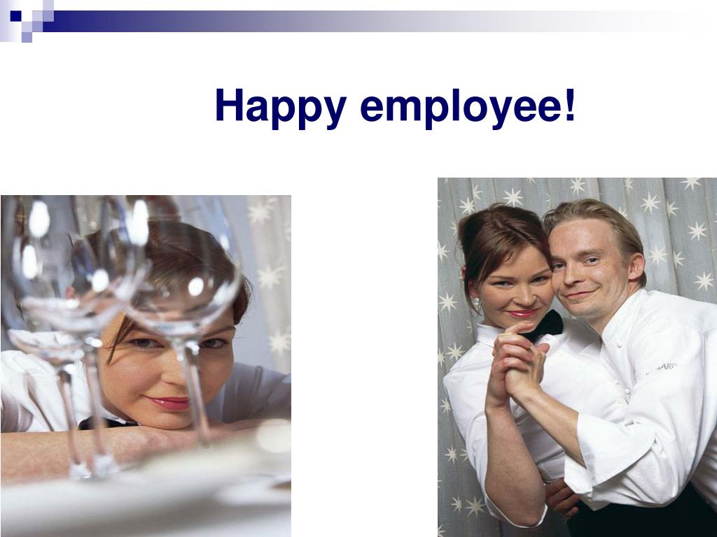 Happy employee!