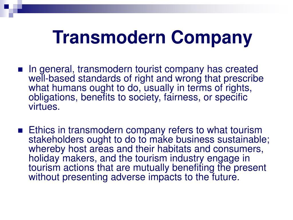 Transmodern Company