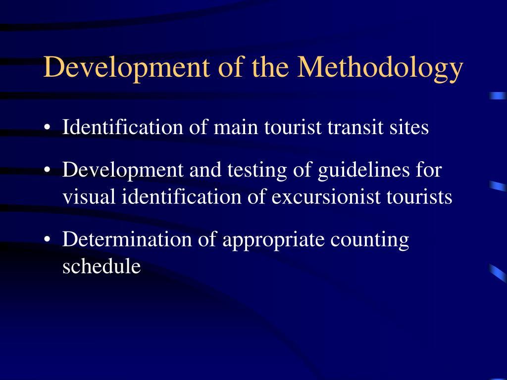 Development of the Methodology