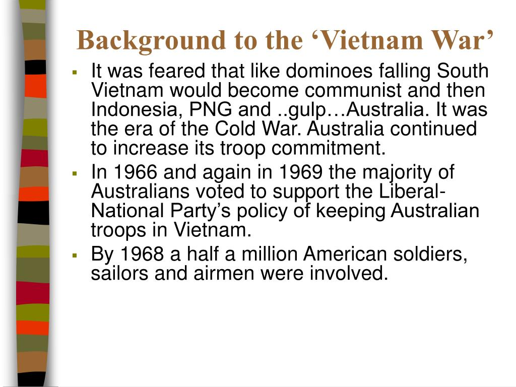 Background to the 'Vietnam War'