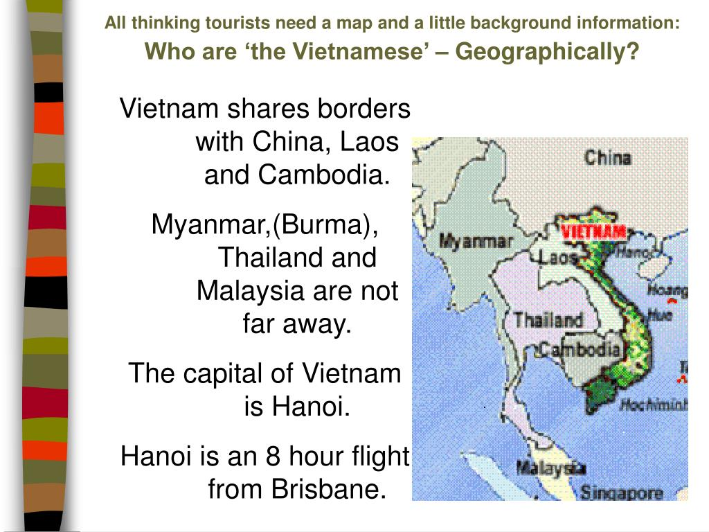 All thinking tourists need a map and a little background information:
