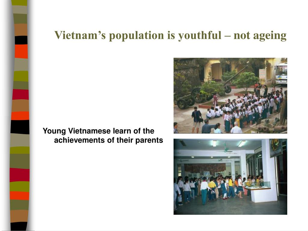 Vietnam's population is youthful – not ageing