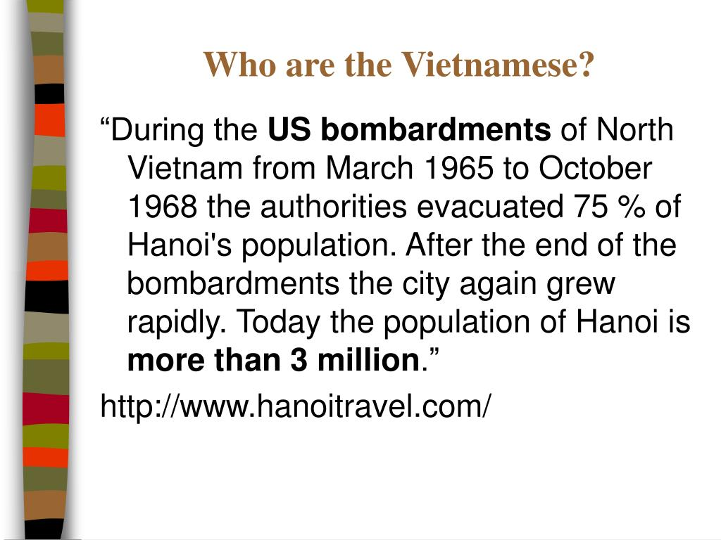 Who are the Vietnamese?