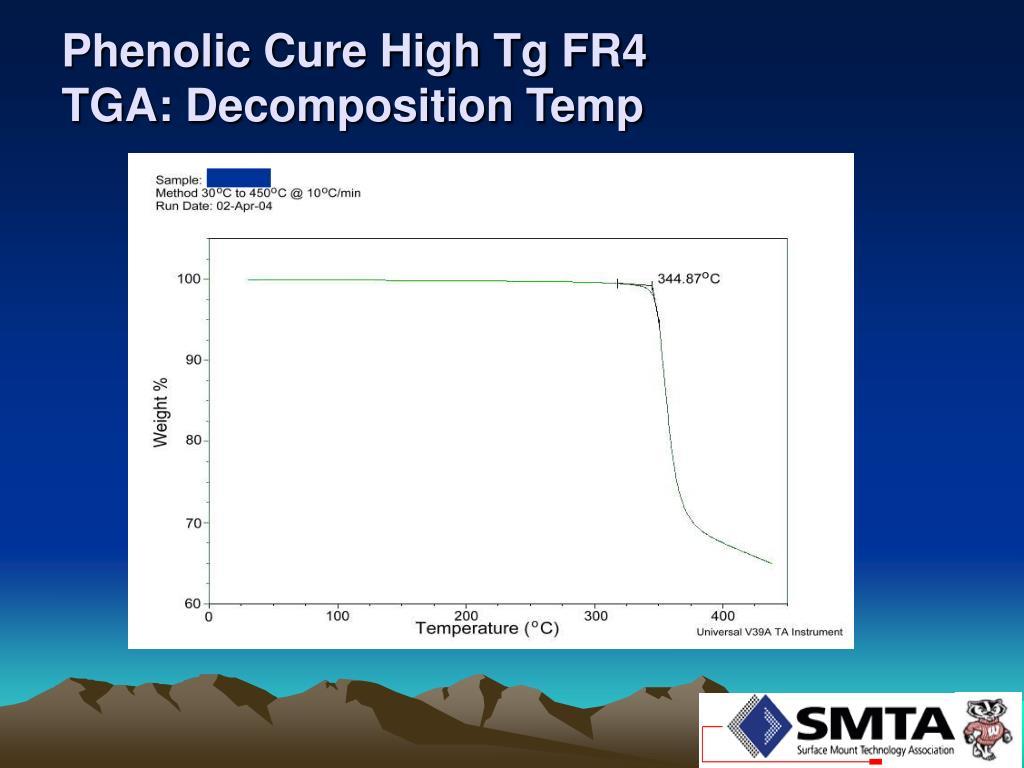 Phenolic Cure High Tg FR4