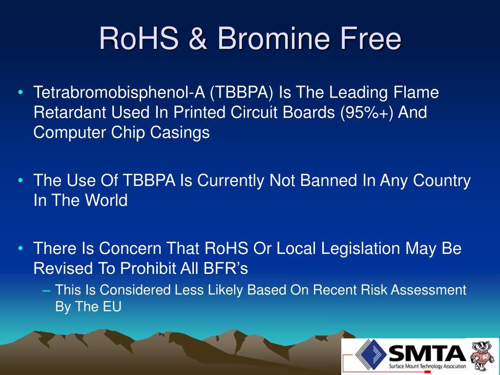 RoHS & Bromine Free