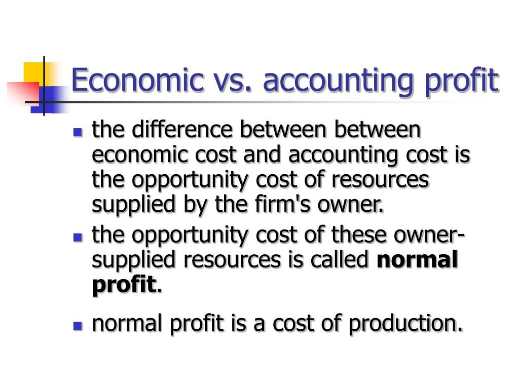 economic earnings vs human resources profit