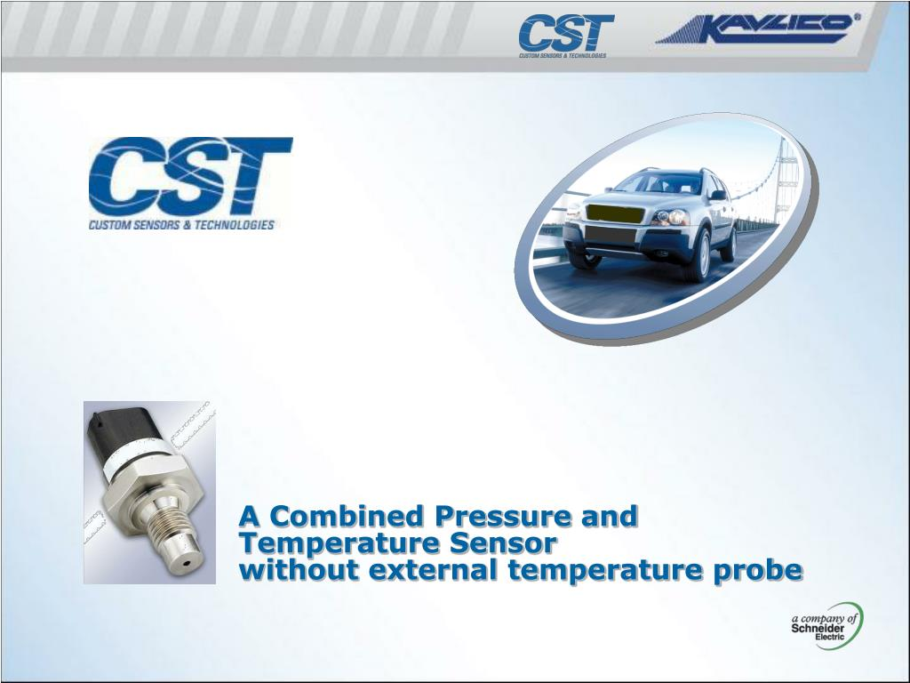 A Combined Pressure and Temperature Sensor