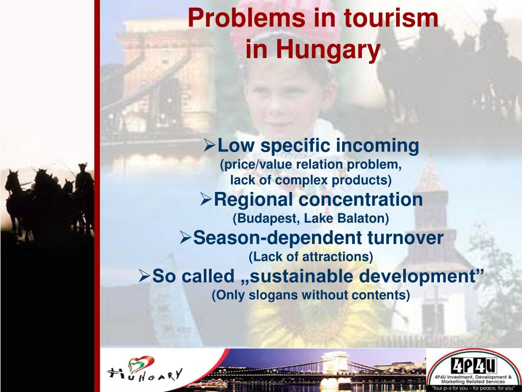 Problems in tourism