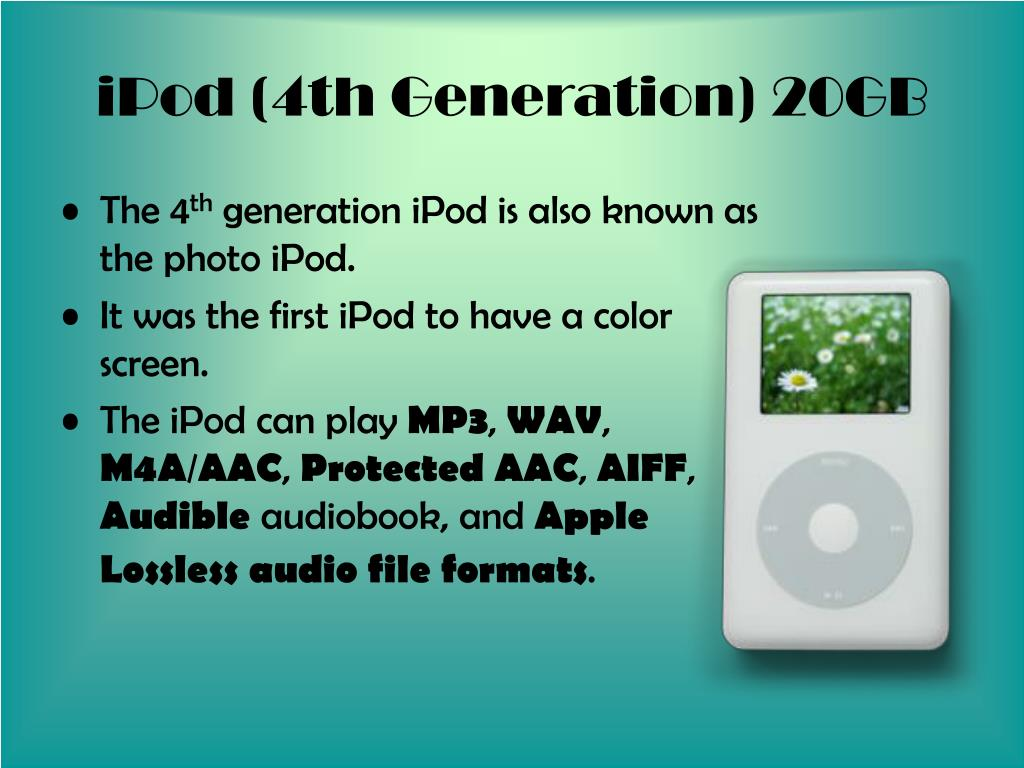 iPod (4th Generation) 20GB