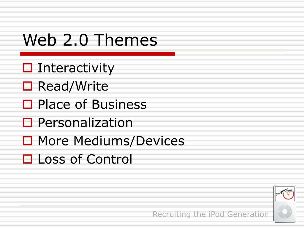 Web 2.0 Themes