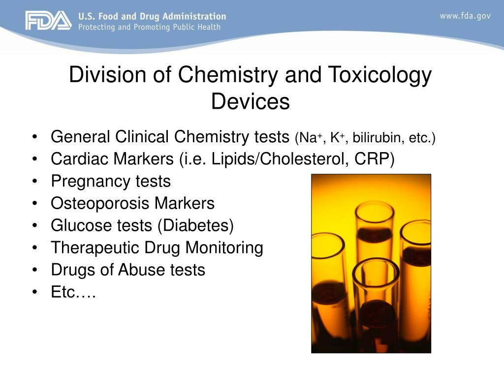 Division of Chemistry and Toxicology Devices