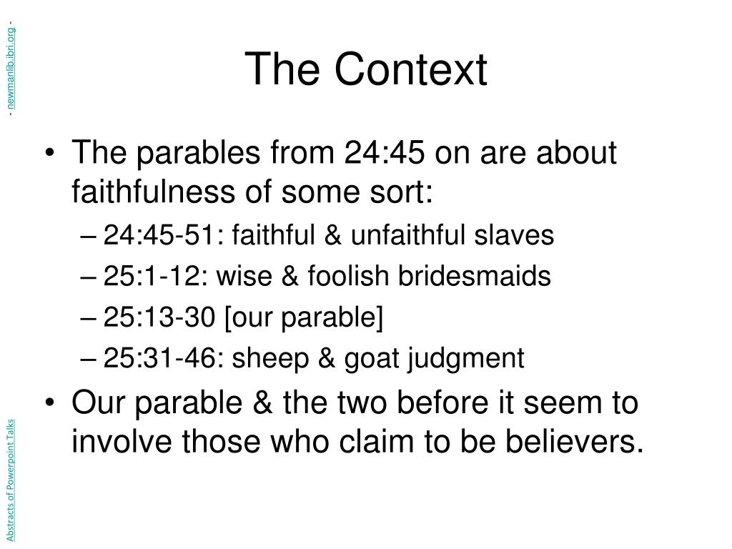 an analysis of the parable of lazarus from the bible Does the parable of the rich man and lazarus (luke 16:19-31) the rich man and lazarus after they died if it is a parable contradict what the bible teaches.
