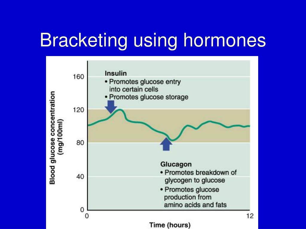 Bracketing using hormones
