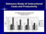 delaware study of instructional costs and productivity19