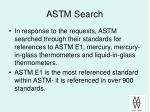 astm search