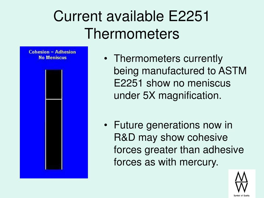 Current available E2251 Thermometers
