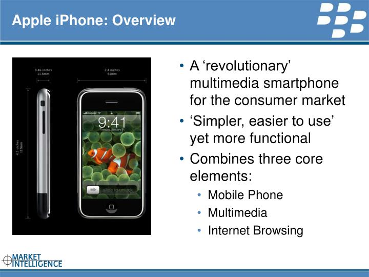 Apple iphone overview